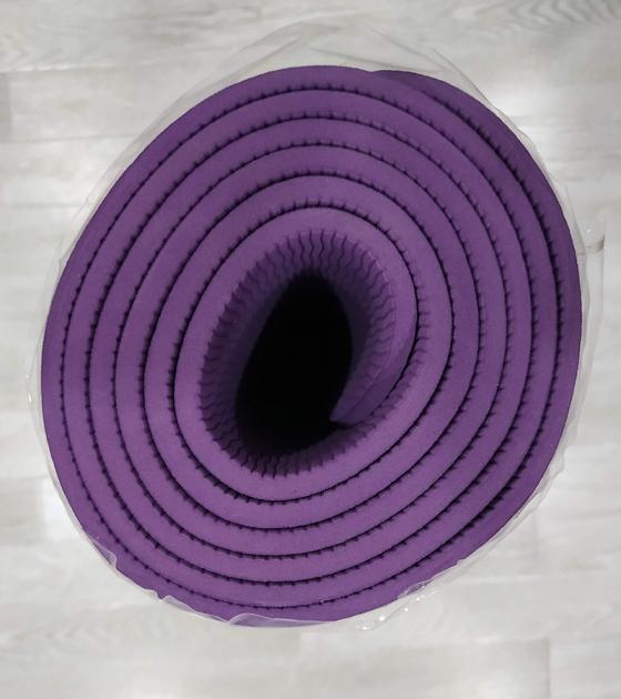Коврик для фитнеса, фиолетовый