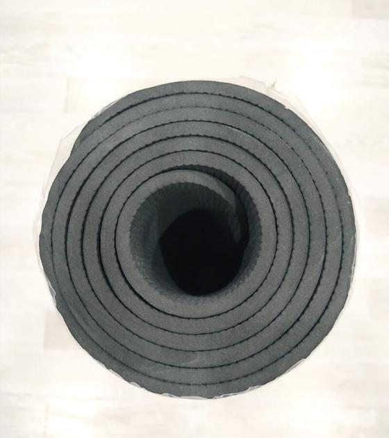 Коврик для фитнеса, черный