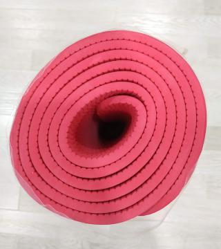 Коврик для фитнеса, красный